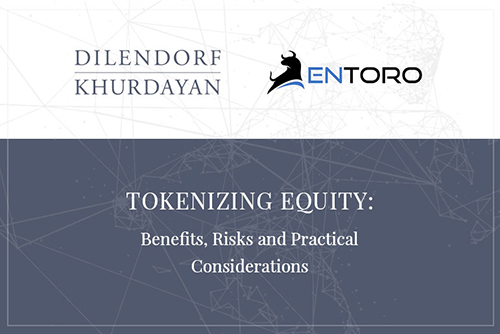 Tokenizing Equity: Benefits, Risks and Practical Considerations