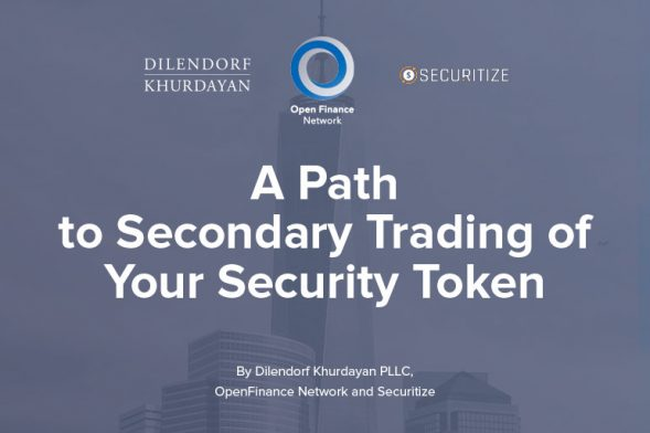 A Path to Secondary Trading of Your Security Token